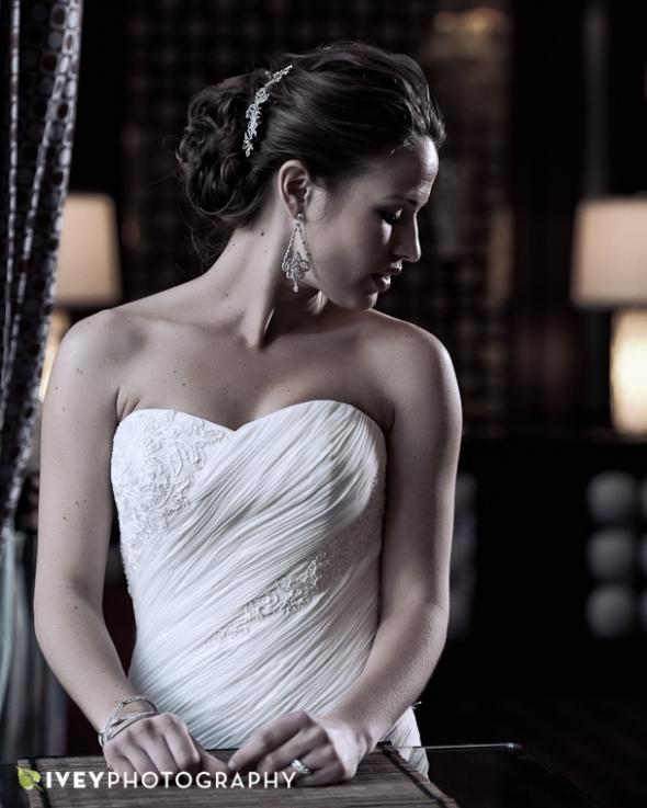 Bridal Portrait Dallas Wedding Photographer The Joule Hotel